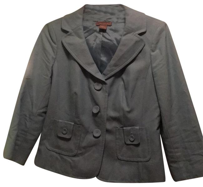 Preload https://item4.tradesy.com/images/ann-taylor-blue-blazer-size-2-xs-23661318-0-1.jpg?width=400&height=650