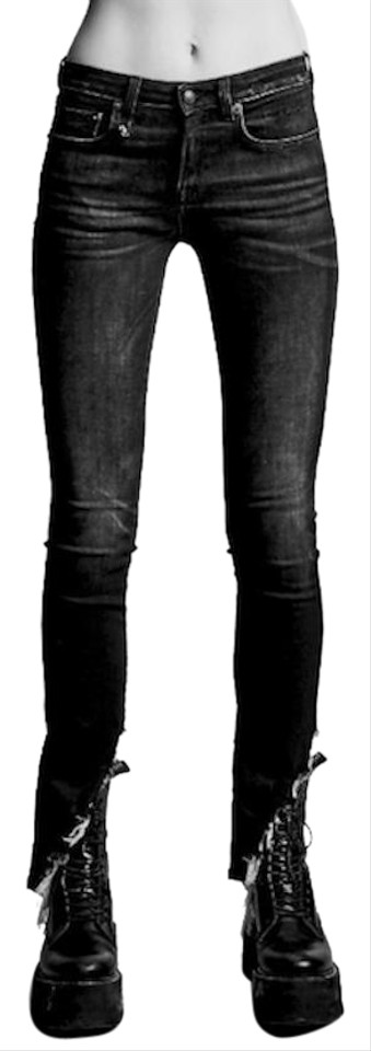 Rinse Blue Size Moon Angled Retail Hem Skinny With R13 Dark Jeans 262Xs15Off Kate K1FTJcl