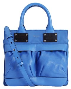Rag & Bone & And Leather Satchel in Blue
