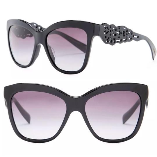 Preload https://item1.tradesy.com/images/dolce-and-gabbana-black-cat-eye-craved-sunglasses-23661340-0-0.jpg?width=440&height=440