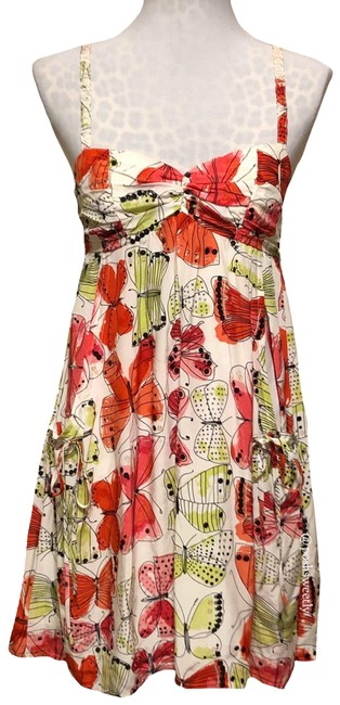 Preload https://item4.tradesy.com/images/nanette-lepore-white-red-black-green-silk-butterfly-printed-mid-length-short-casual-dress-size-2-xs-23661348-0-1.jpg?width=400&height=650