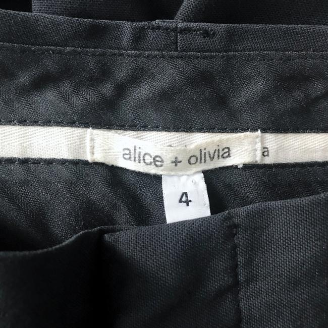 Alice + Olivia Wide Leg Pants black