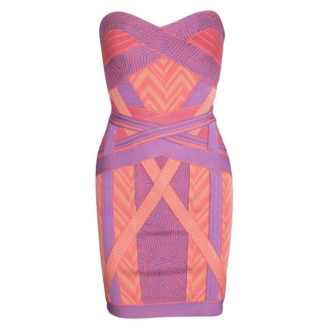 Preload https://item4.tradesy.com/images/herve-leger-multicolor-colorblock-arden-b-chevron-pattern-strapless-bandage-short-formal-dress-size--23661373-0-0.jpg?width=400&height=650