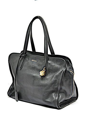 Preload https://item1.tradesy.com/images/alexander-mcqueen-pebble-gold-skull-padlock-black-leather-tote-23661385-0-0.jpg?width=440&height=440