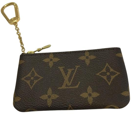 Preload https://item4.tradesy.com/images/louis-vuitton-brown-key-pouch-credit-card-wallet-23661418-0-1.jpg?width=440&height=440