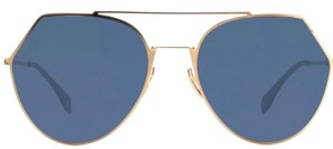 Fendi crop aviator 0194/S-02A-55