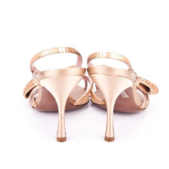 Moschino Gold Sandals