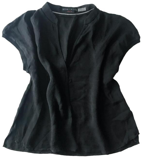 Preload https://item1.tradesy.com/images/alice-olivia-black-silk-blouse-size-4-s-23661445-0-1.jpg?width=400&height=650