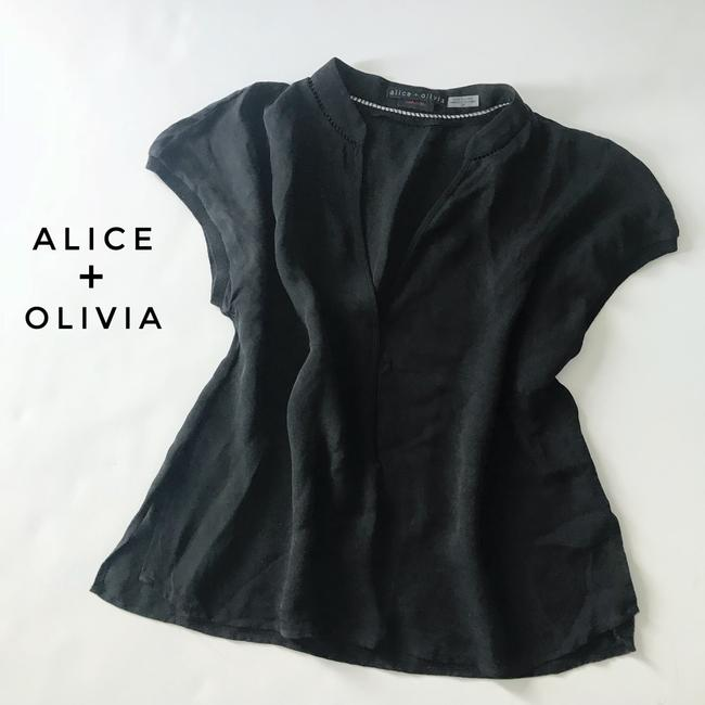 Alice + Olivia Top black