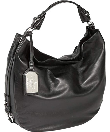 Preload https://img-static.tradesy.com/item/23661455/ralph-lauren-large-harbridge-black-leather-hobo-bag-0-1-540-540.jpg