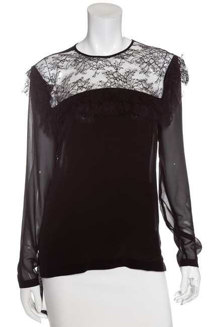 Preload https://img-static.tradesy.com/item/23661472/preen-by-thornton-bregazzi-black-silk-and-lace-detail-large-blouse-size-12-l-0-0-650-650.jpg
