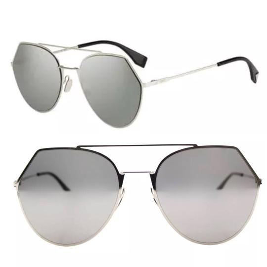 Preload https://img-static.tradesy.com/item/23661479/fendi-light-gold-silver-eye-line-cropped-aviator-sunglasses-0-0-540-540.jpg