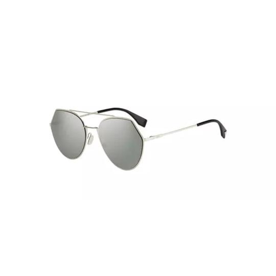 Fendi eye line cropped aviator