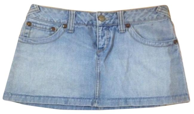 Preload https://item1.tradesy.com/images/free-people-blue-denim-miniskirt-size-4-s-27-23661480-0-1.jpg?width=400&height=650