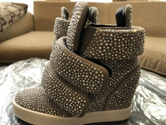 Giuseppe Zanotti Wedge Sneakers Stud Sloan Athletic