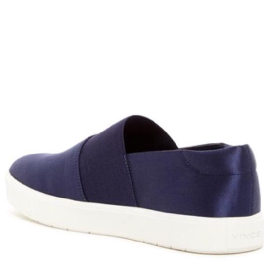 Vince Navy Satin Athletic