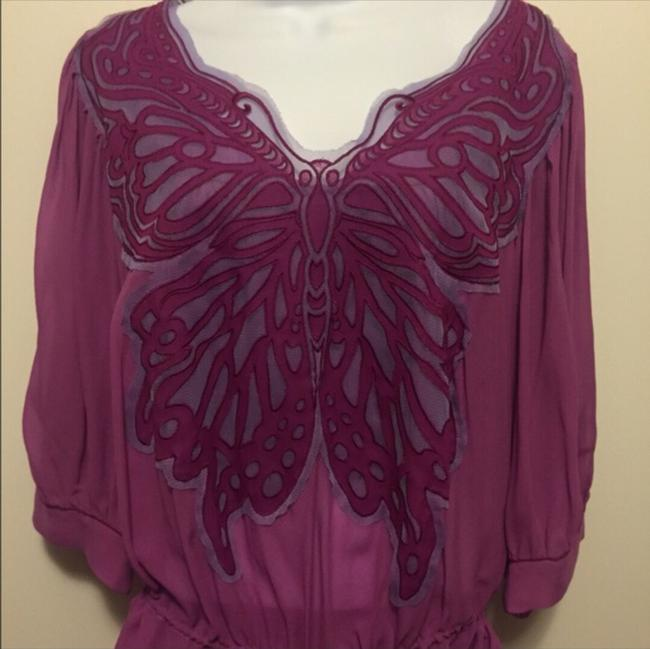 Vivienne Tam Top Purple