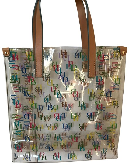 Preload https://item1.tradesy.com/images/dooney-and-bourke-lunch-tote-multicolor-plastic-clutch-23661525-0-1.jpg?width=440&height=440