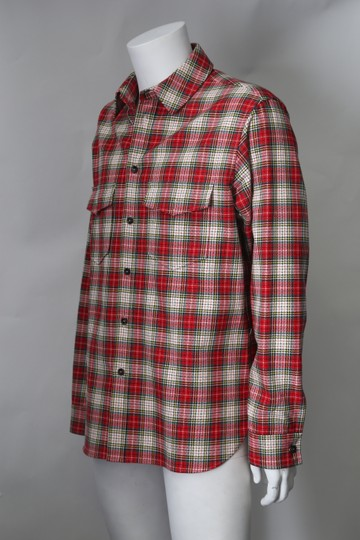 Preload https://item3.tradesy.com/images/gucci-red-white-multi-color-snake-wreath-plaid-cotton-shirt-23661572-0-0.jpg?width=440&height=440