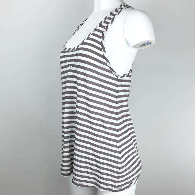 Joie Top Gray/White