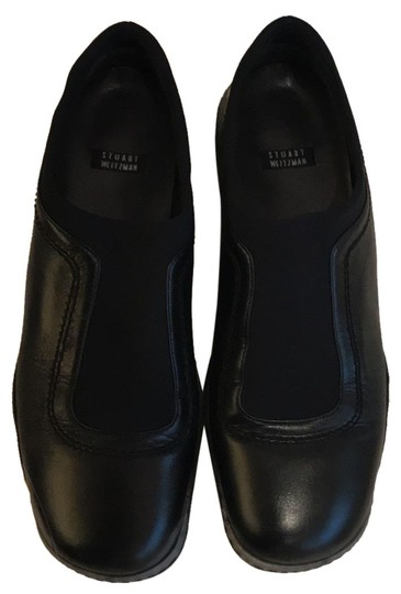 Preload https://img-static.tradesy.com/item/23661605/stuart-weitzman-black-flats-size-us-7-regular-m-b-0-2-540-540.jpg