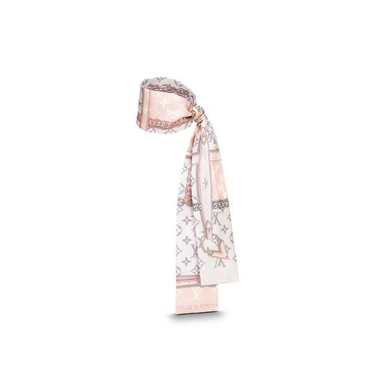 Preload https://item2.tradesy.com/images/louis-vuitton-pink-2018-super-pretty-confidential-bandeau-scarfwrap-23661616-0-0.jpg?width=440&height=440