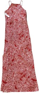 cherry tomato Maxi Dress by Laundry by Shelli Segal