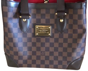 ea7333e031ed Added to Shopping Bag. Louis Vuitton Tote in Damier Ebene. Louis Vuitton  Hampstead Pm ...
