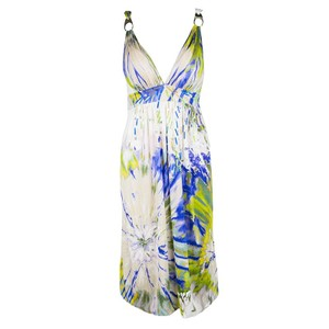 Multicolor Maxi Dress by Blumarine
