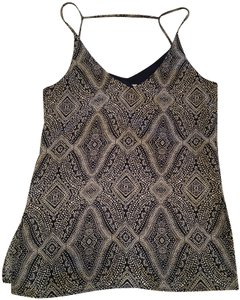 H&M Sleeveless Like New Summer Fall Top Blue and white