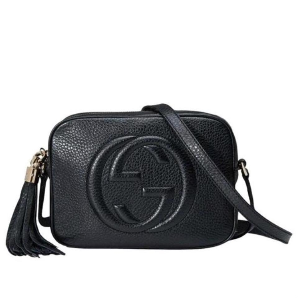 232986bf9ffcec Gucci Soho Small Leather Disco Black Cross Body Bag - Tradesy