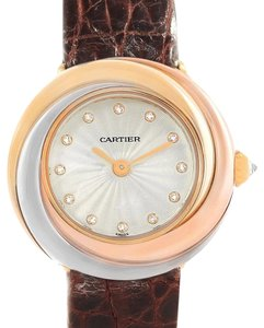 Cartier Cartier Trinity 18K White Yellow Rose Gold Diamond Ladies W200246