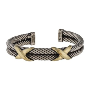 David Yurman Sterling Silver Double Cable X