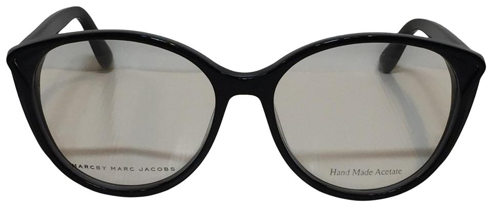 3dcc444874b Marc by Marc Jacobs Black 585 99o Round Cat Style Sunglasses - Tradesy