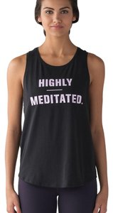 "Lululemon ""Highly Meditated"" Muscle Tank"