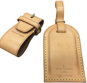 Louis Vuitton Luggage ID tag and handle holder