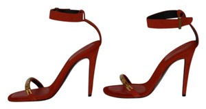 Céline Brand New Suede RED Sandals