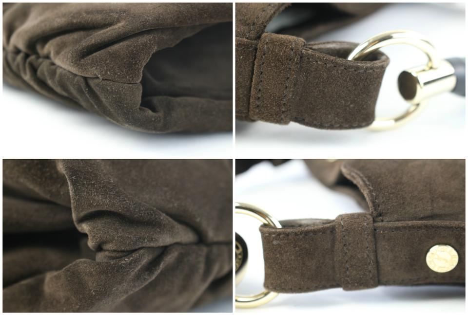 Shoulder Leather 02mz0710 Suede Bag Hobo Laurent Mombasa Brown Saint HfqxpY0Zwp