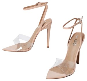 Ego Nude Clear Sandals