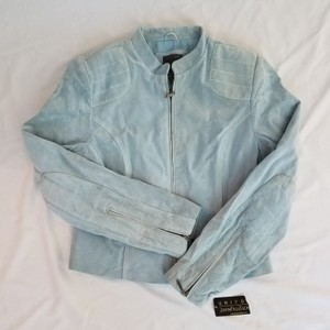 Uniform John Paul Richard Light blue Leather Jacket