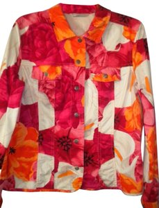 French Laundry Floral Esther Lily Multi-Color Blazer