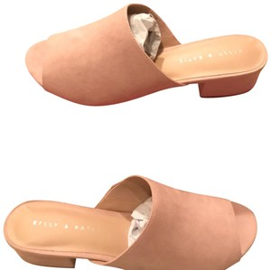 Kelly & Katie Blush Mules