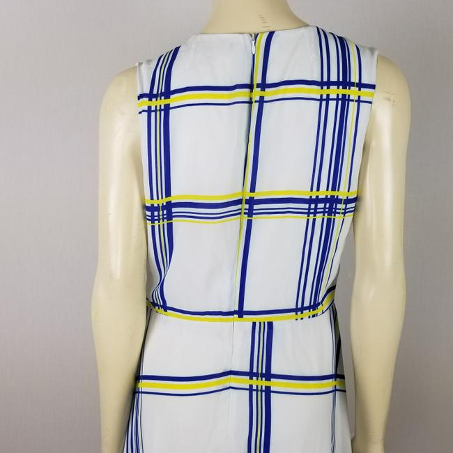 A.B.S. by Allen Schwartz short dress white, blue and yellow Summer Sleeveless M on Tradesy Image 6