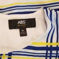 A.B.S. by Allen Schwartz short dress white, blue and yellow Summer Sleeveless M on Tradesy Image 9
