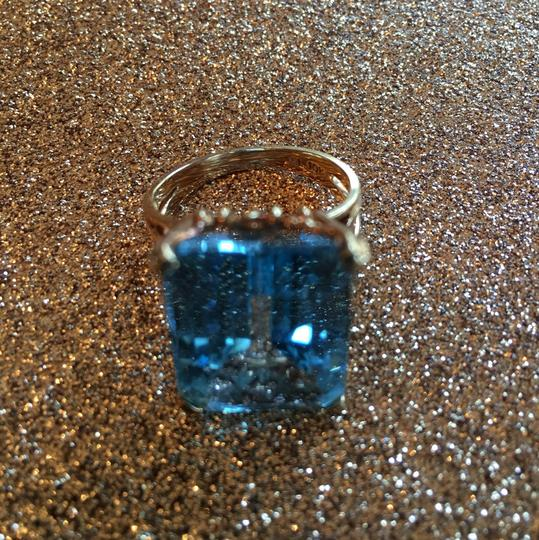 Other Blue Topaz gold ring