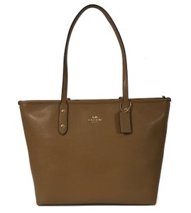Coach Bags City Zip Tote in Brown