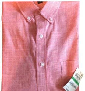 Club Room Button Down Shirt coral/ men's large
