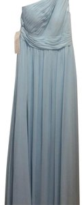 Azazie Bridesmaid Maxi Sky Dress