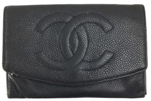 Chanel CC Timeless Flap wallet caviar Leather large wallet