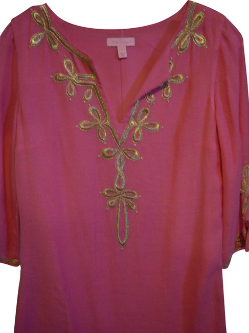 Item - Pink Gold Tunic/Lilly Tunic Size 4 (S)
